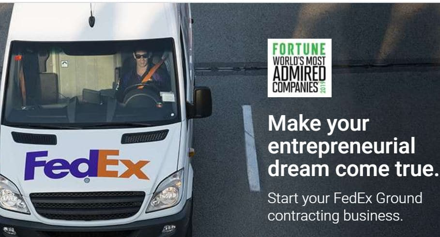 FedEx Ground contracting business opportunity