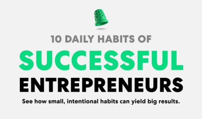 daily habits of successful entrepreneurs